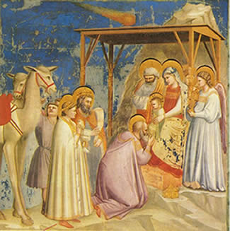Giotto - L'adoration des mages