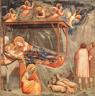 Giotto - La Nativité